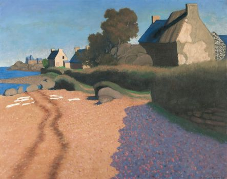 Landscape At Loguivy (1923)
