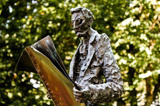 Joseph Pulitzer (Liberty Island, Manhattan, New York City, USA)