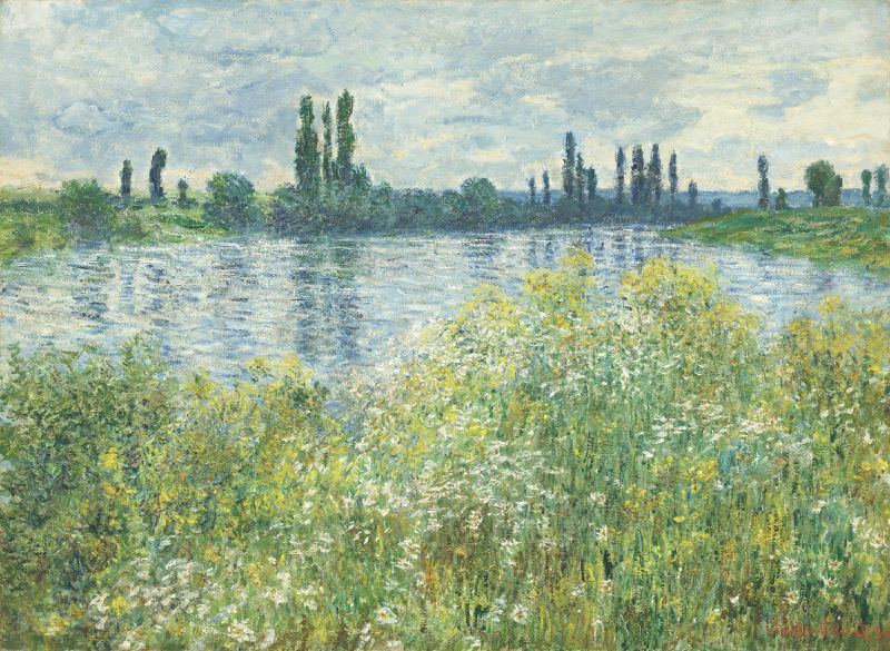Banks of the Seine, Vétheuil (1880)