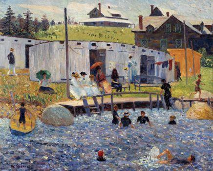 The Bathing Hour, Chester, Nova Scotia (1910)