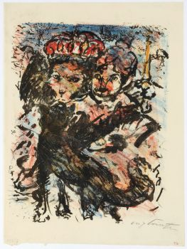 Der Löwe Nobel Mit Seiner Gattin Und Dem Wolf Isegrim (1920)