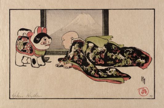 The Puppy-cat and the Baby (1904)