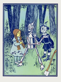 'This is the great comfort,' said the Tin Woodman (1900)