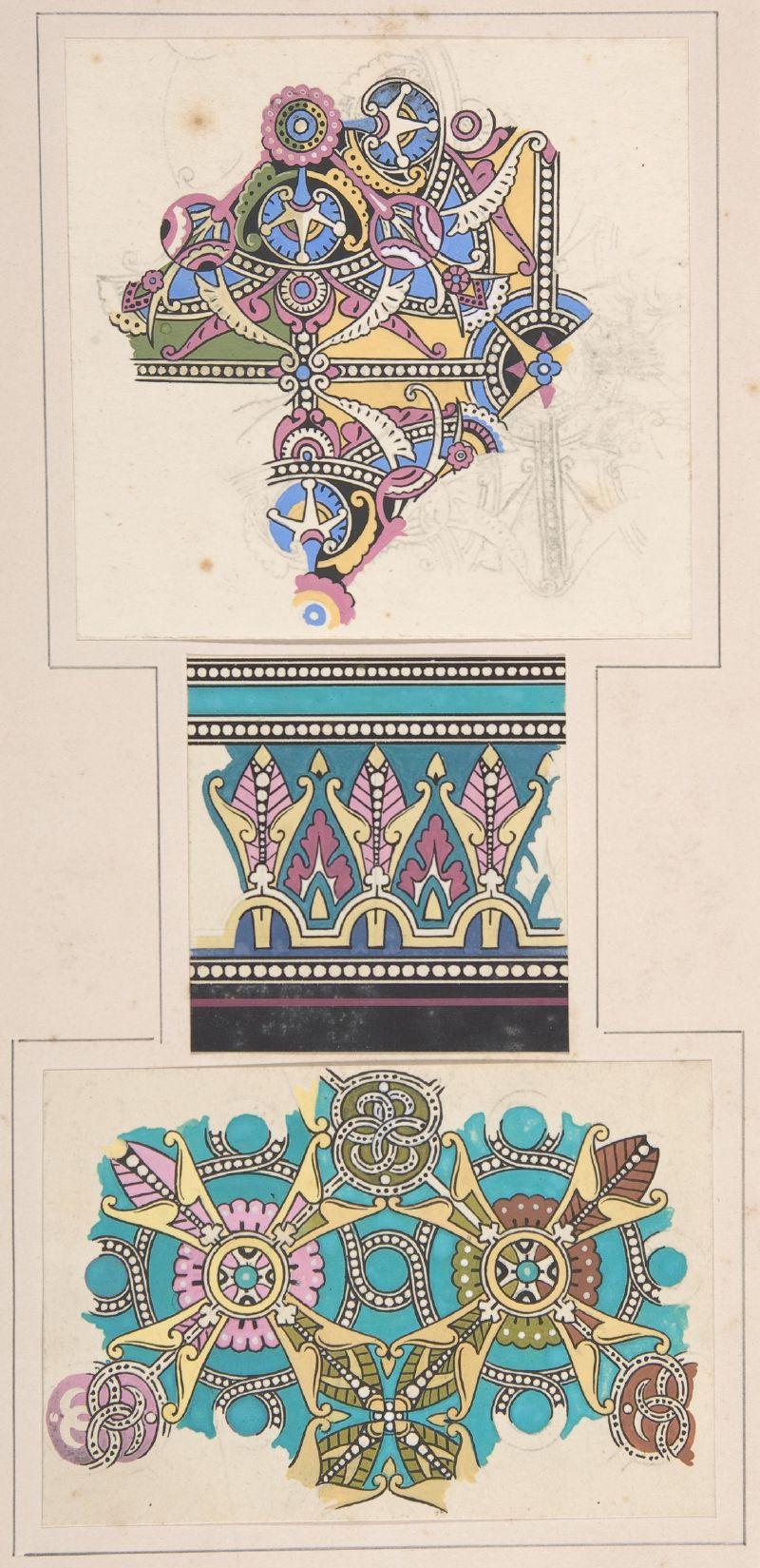 Design drawing (ca. 1883)