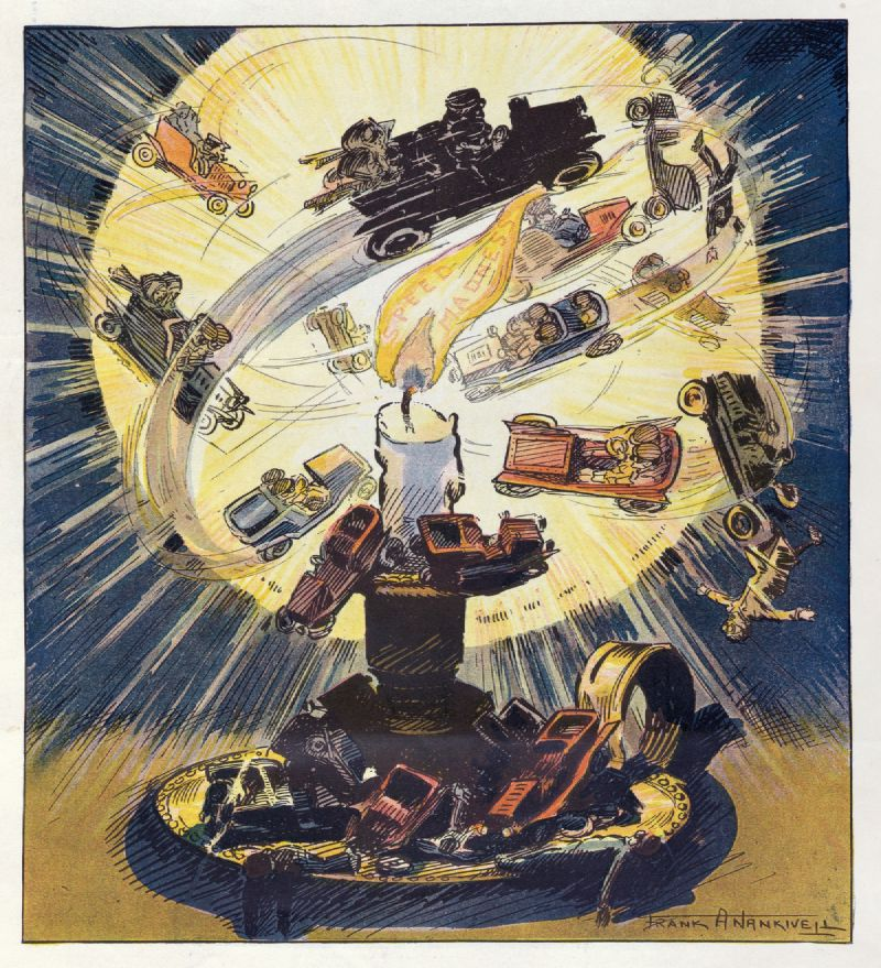 The moths and the flame (1907)