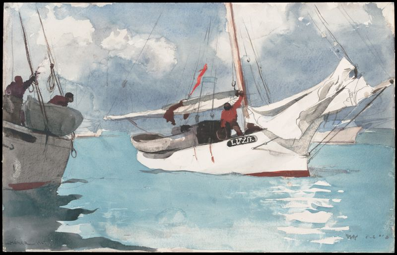 Fishing Boats, Key West (1903)