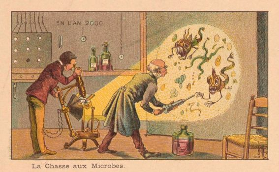 France in 2000 year. Microbes. (1900)