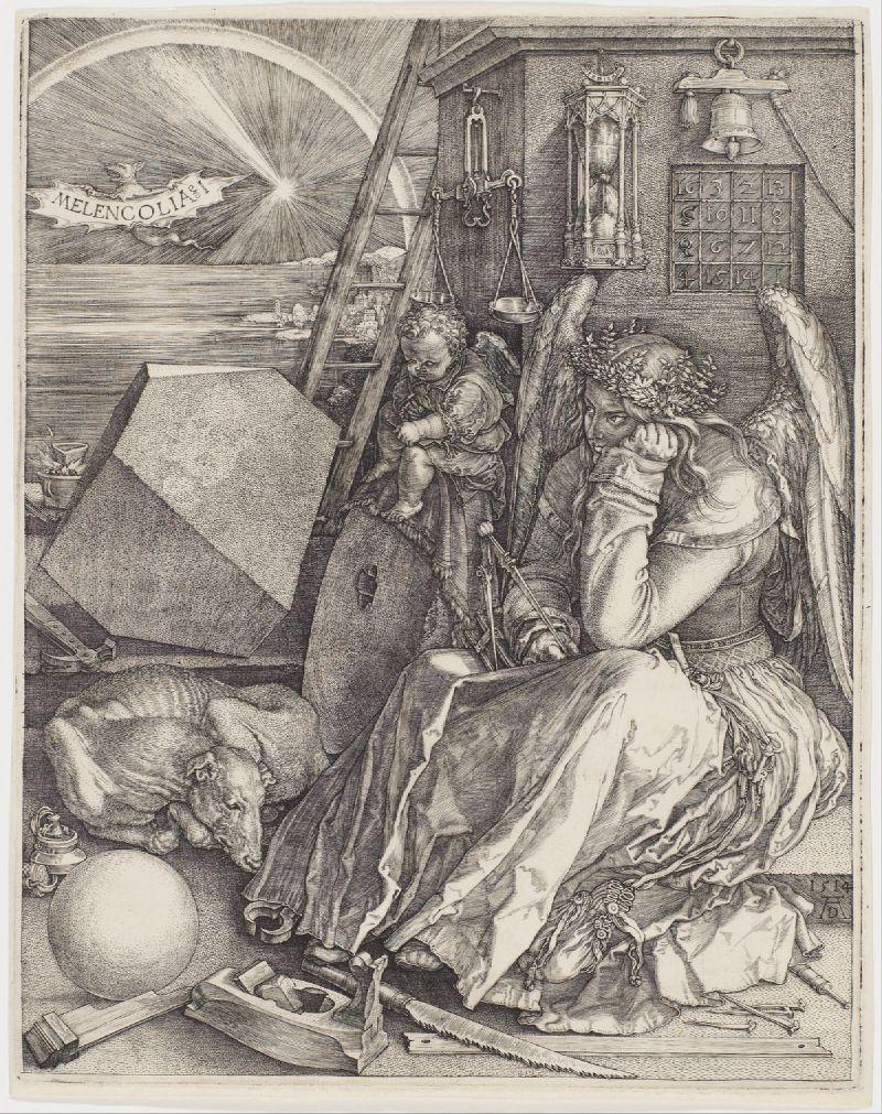 Melencolia I (1514)