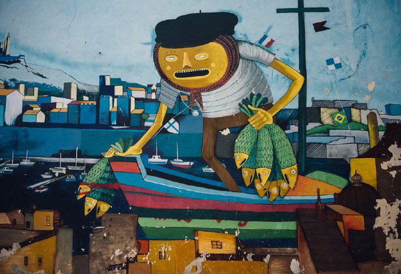 Street Art in Marseille, France
