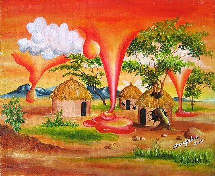 Melting Sky (2009 - acrylic on canvas)