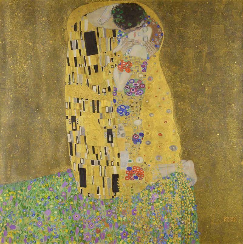The Kiss (1908)
