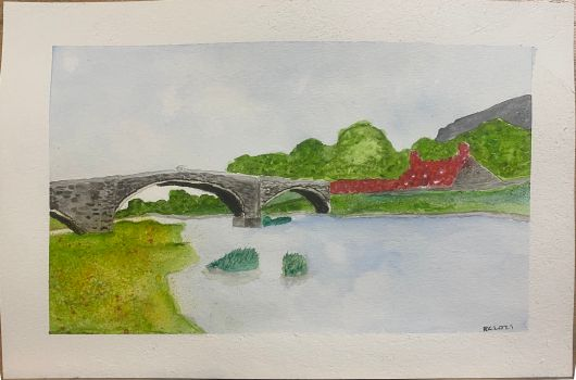 Llanrwyst Bridge and Tea Room